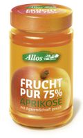 Allos Frucht Pur 75% Aprikose, 250g