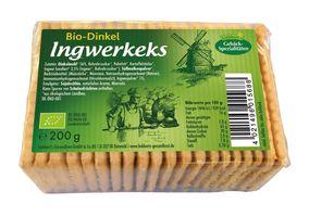 Liebhart´s Gesundkost Bio-Dinkel Ingwerkeks, 200 g