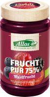 Allos Frucht Pur 75% Waldfrucht, 250g