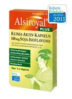 Alsiroyal PLUS Klima-Aktiv-Kapseln 100 mg Soja-Isoflavone, 30 St.
