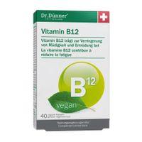 Dr. Dünner Vitamin B12, 40St 001