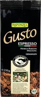 Rapunzel Gusto cafe Espresso all italiana, Bio, 250g