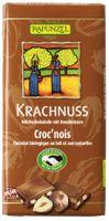 Rapunzel, Krachnuss Vollmilch Schokolade Haselnuss, 100g