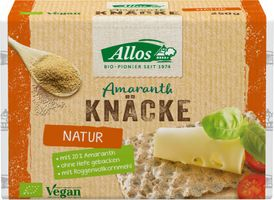 Allos Amaranth-Knäcke, Bio, 250 g