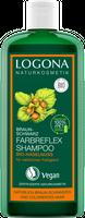 Logona Farbreflex Shampoo Braun-Schwarz Bio-Haselnuss, 250ml