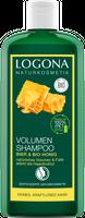LOGONA Volumen Shampoo Bier & Bio-Honig, 250 ml