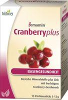 Hübner femamin Cranberry plus, 180g