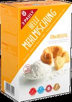 3 PAULY Helle Mehlmischung, glutenfrei, 800 g