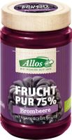 Allos Frucht Pur 75% Brombeere, 250g