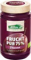 Allos Frucht Pur 75% Pflaume, 250g