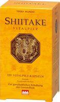 Terra Mundo Shiitake Vitalpilz Kapseln, 120 St.