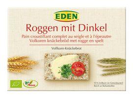 Eden Roggen mit Dinkel Vollkorn-Knäckebrot, 250 g