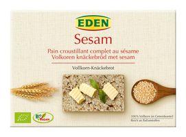 Eden Sesam Vollkorn-Knäckebrot, 250 g