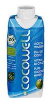 Cocowell Bio Kokoswasser, 330 ml