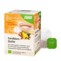 Salus Gourmet Sanddorn Quitte Tee, Bio, 15 Filterbeutel