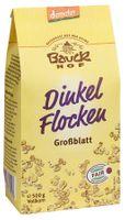 Bauck Dinkelflocken Großblatt Demeter, 500g