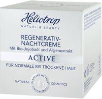 Heliotrop Active Regenerativ-Nachtcreme, 50 ml