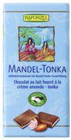 Rapunzel Vollmilch Schokolade Mandel-Tonka HIH, 100g