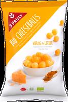 3 PAULY Cheeseballs BIO, 65 g