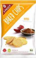 3 PAULY Baked Chips Paprika, BIO, 85 g