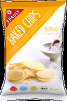 3 PAULY Baked Chips Meersalz, BIO 85 g