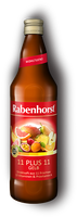Rabenhorst 11 Plus 11 gelb, 750 ml