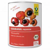 Raab Vitalfood Guarana Premium Pulver, Bio, 140g