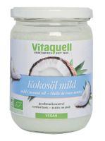 Vitaquell, Kokosöl Bio mild , 400g 001