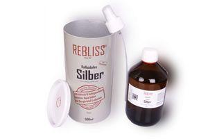 Rebliss, Silver KS®, Kollodiales Silber, 500 ml, inkl Zerstäuber – Bild 2