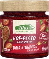 Allos Hof-Pesto Tomate Walnuss, 125g