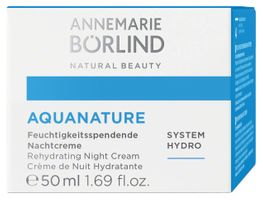 Börlind Aquanature Nacht Creme, 50ml