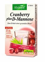 Alsiroyal Cranberry plus D-Mannose, 10 Sticks