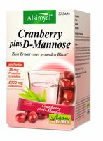 Alsiroyal Cranberry plus D-Mannose, 30 Sticks