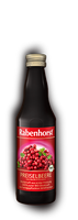 Rabenhorst Preiselbeer Muttersaft, Bio, 330 ml