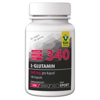 Raab L-Glutamin 340, 100 Kps.