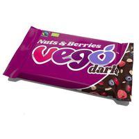 Vego Dark Nuts & Berries, bio, 85g